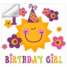 Sun 1st Birthday Wall Art Wall Decal