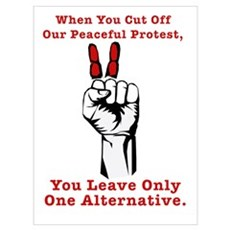 Occupy Together - One Alterna Wall Art Canvas Art