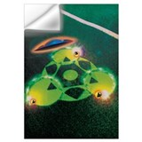 Ufo crop circles Wall Decals