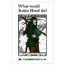 Robin Hood Wall Art Canvas Art