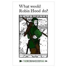 Robin Hood Wall Art Poster