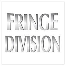 Fringe Div/Metallic Wall Art Poster