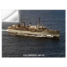 USS YOSEMITE Wall Art Wall Decal