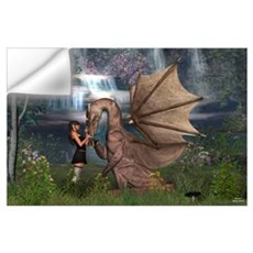 Dragon Love Wall Art Wall Decal