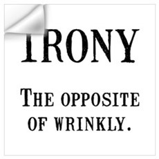 Irony Wall Art Wall Decal
