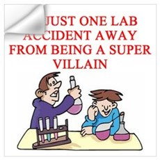 funny chemistry jokes Wall Art Wall Decal