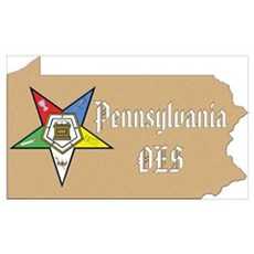 Pennsylvania OES Wall Art Poster