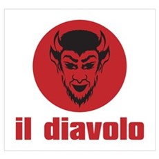 IL DIAVOLO Wall Art Poster