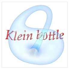 Klein Bottle Wall Art Poster