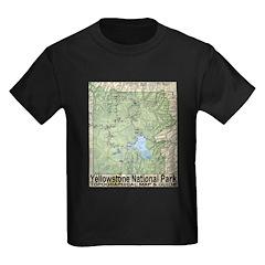 Yellowstone NP Topo Map T