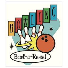 """Bowl-a-Rama"" Wall Art Poster"