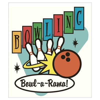 """Bowl-a-Rama"" Wall Art Framed Print"