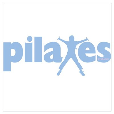 PIlates Baby Blue by Svelte.biz Wall Art Poster