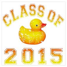 Class Of 2018 Duckie Wall Art Poster