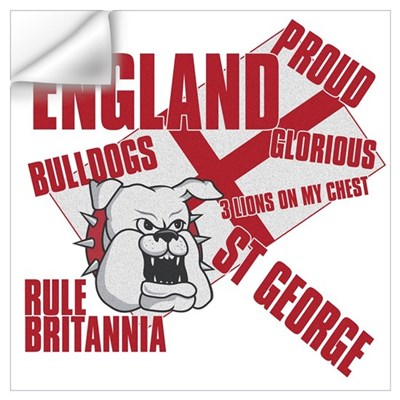 BULLDOGS Wall Art Wall Decal