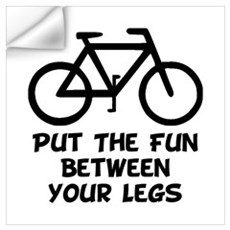 Bike Fun Wall Art Wall Decal