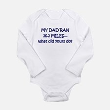 Cute Girls on the run Long Sleeve Infant Bodysuit
