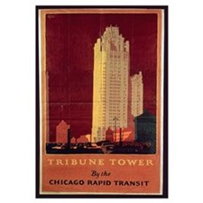 Tribune Tower, published by Chicago Rapid Transit
