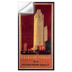 Tribune Tower, published by Chicago Rapid Transit  Wall Decal