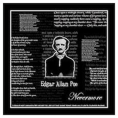Edgar Allan Poe Wall Art Poster