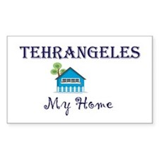 Tehrangeles Rectangle Decal