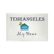 Tehrangeles Rectangle Magnet