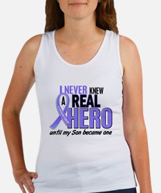 Never Knew a Hero Esophageal Cancer Women's Tank T