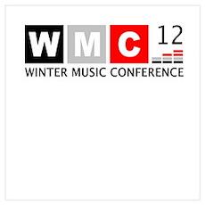 WMC '12 Winter Music Conferen Wall Art Poster