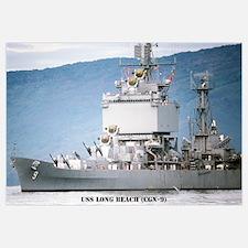 USS LONG BEACH Wall Art