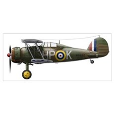 A Gloster Gladiator Mk II Poster