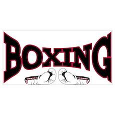 Boxing Wall Art Poster