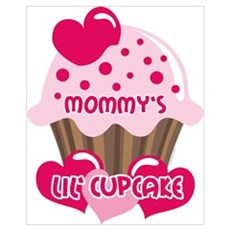 Mommy's Lil' Cupcake Wall Art Framed Print