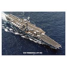 USS FORRESTAL Wall Art
