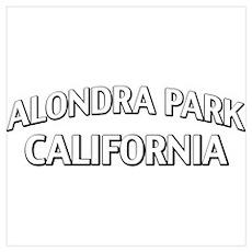 Alondra Park California Wall Art Poster