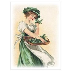 Vintage St. Patricks Day Imag Wall Art Poster