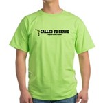 England London LDS Mission Ca Green T-Shirt