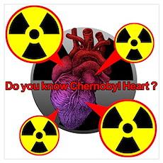 Chernobyl Heart Wall Art Poster