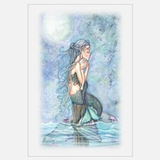 Mother and Baby Mermaid Wall Art