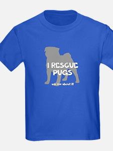 I RESCUE Pugs T
