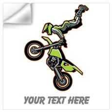 Motocross Jump Wall Art Wall Decal