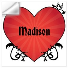 Custom Name Tattoo Heart Wall Art Wall Decal
