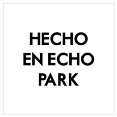 Hecho En Echo Park 2 Wall Art Framed Print