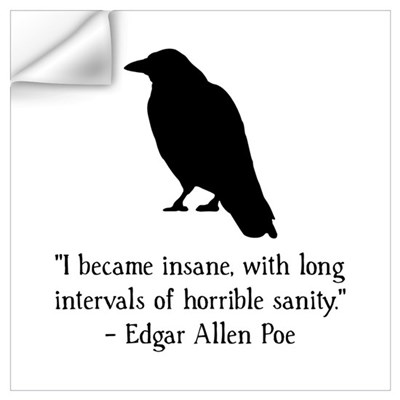 Edgar Allen Poe Quote Wall Art Wall Decal