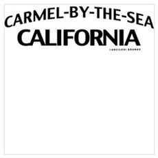 Carmel-by-the-Sea Wall Art Poster