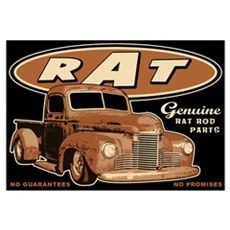 RAT - Truck Wall Art Framed Print