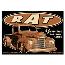 RAT - Truck Wall Art Poster