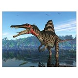 Dinosaurs Wrapped Canvas Art