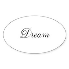 Dream Inspiration Word Decal
