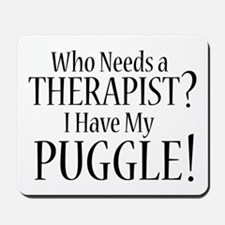 THERAPIST Puggle Mousepad