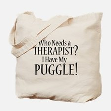 THERAPIST Puggle Tote Bag